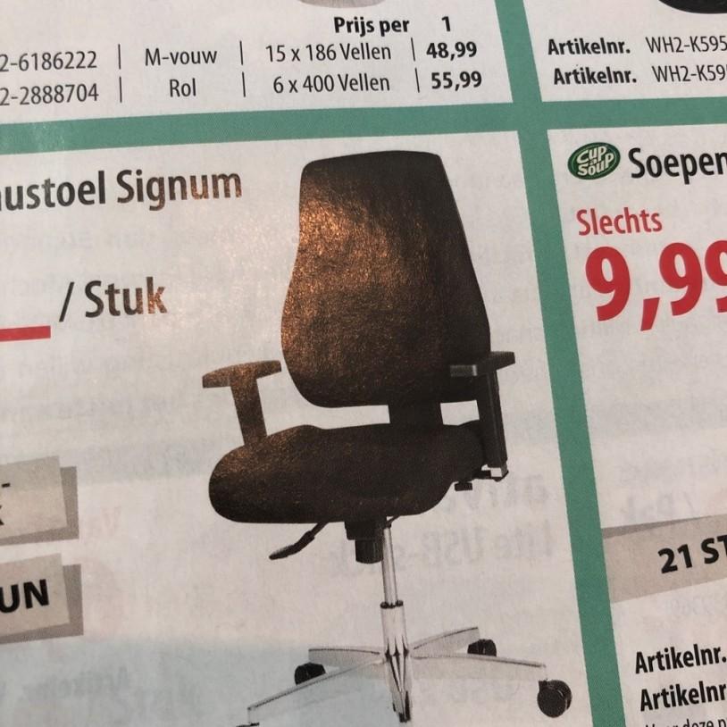 BUREAUSTOEL SIGNUM