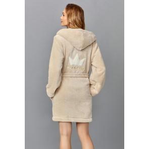 Short bathrobe model 122865 L&L collection
