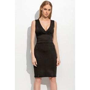 Evening dress model 60907 Makadamia